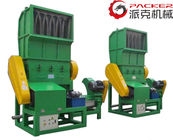 China PP PE Films Waste Plastic Crushing Machine Woven Bags Hydraulic Silo Open factory