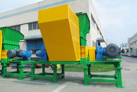 China High Efficiency Double Shaft Shredder Material Force Feeding System Liquid Waste factory