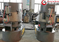 China PE PP PET Film Agglomerator Plastic Machine 100kg/H- 800kg/H Sync Chromium Blade factory