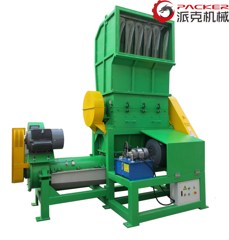 High Capacity Plastic Crusher Machine Electric Control For Agriculture Film