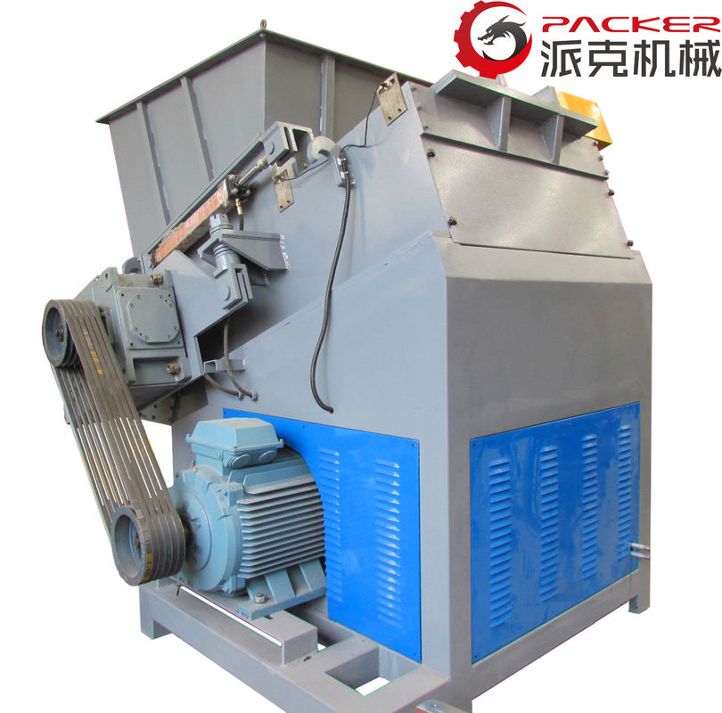 High Performance Pet Shredder Machine , Industrial Shredder Machine Single Shaft