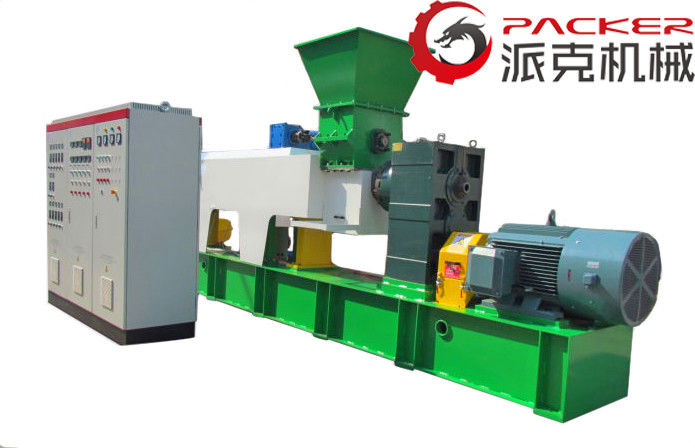 Double Stages Plastic Granulator Machine , PVC Granulating Machine Safety Control