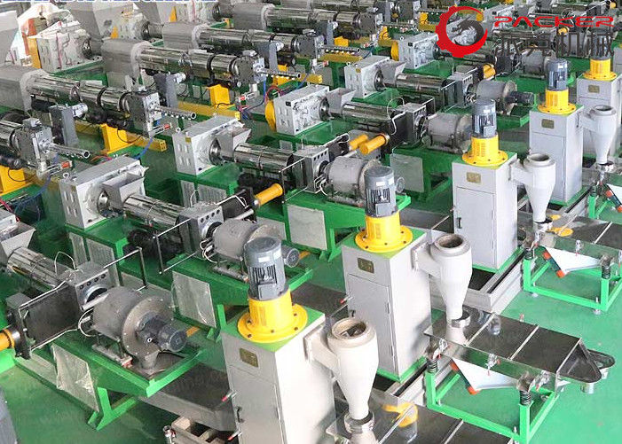 Force Feeder Industrial Granulator , Plastic Recycling Granulator Stable