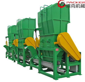 450mm Rotating Bottle Crusher Machine , Crusher Machine Plastic 30kW Motor