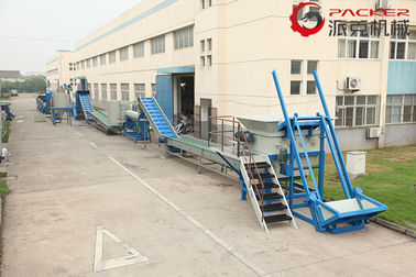 China SKF Bearing Plastic PET Bottle Recycling Machine Stainless Steel 304 Optional Color factory