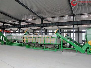 PE PP Plastic Recycling Equipment , Humanized Control