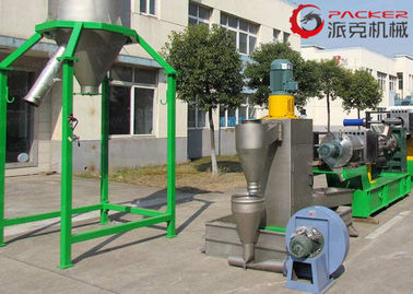 China High Capacity Plastic Granulating Line 180mm Screw 500kg/H Capacity Optional Color factory